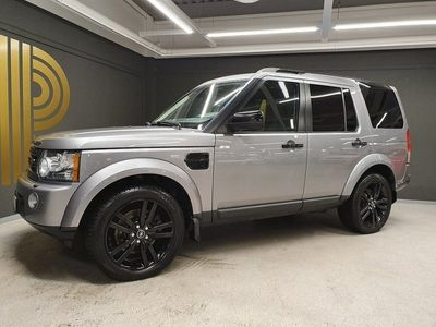 begagnad Land Rover Discovery 3.0 SDV6 4WD Automat 7sits Pano Black P
