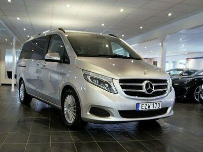 begagnad Mercedes V220 CDI 7G-Tronic Plus 7-sits 163hk