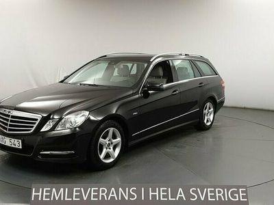 begagnad Mercedes E250 E BenzCGI El-baklucka Dragkrok H-skinn 2011, Kombi Pris 118 900 kr