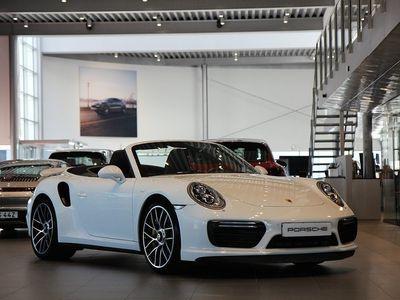 begagnad Porsche 911 Turbo S 991.2 Cabriolet
