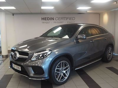 begagnad Mercedes GLE350 - BenzCOUPE AMG PANORAMA HARMAN KARDON
