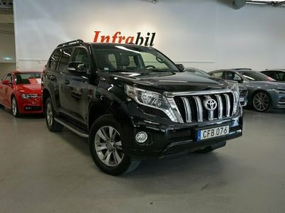 begagnad Toyota Land Cruiser 3.0 D-4D Executive 4WD 190hk