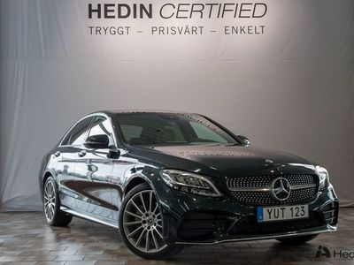 begagnad Mercedes C220 d // AMG & Navigation //
