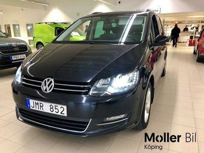 begagnad VW Sharan TDI 170 DSG GT 7-sits V-hjul Värmare