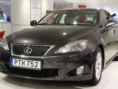 begagnad Lexus IS250 V6 AUT COMFORT SKINN DRAG PDC
