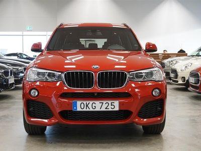begagnad BMW X3 xDrive20d M Sport Navi Hk Värmare