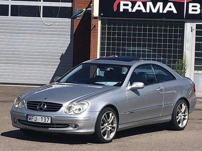 begagnad Mercedes CLK240 Coupé Automat 170hk, Ny