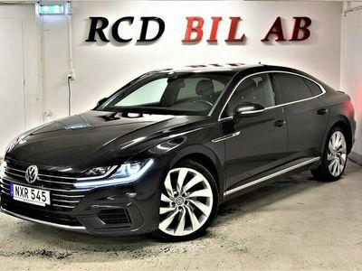 begagnad VW Arteon 2.0 TDI 4M R-LINE GTS D-VÄRM 1.95% RÄNTA
