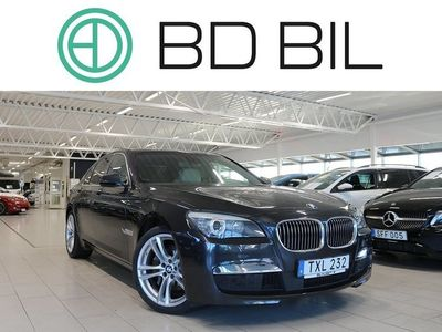 begagnad BMW 740 d xDrive M-SPORT HEAD-UP S-CLOSE D-VÄRM