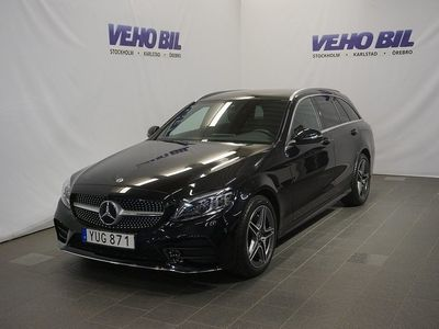 used Mercedes 220 CKombi 4-Matic AMG Backkamera Värmare Aut Drag Nav