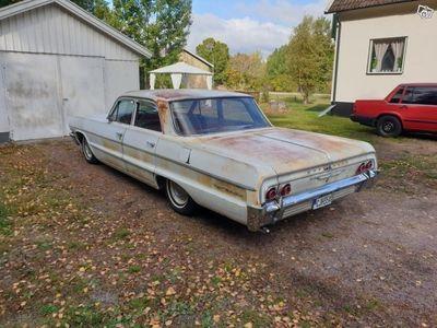 begagnad Chevrolet Bel Air 1964 patinasläden