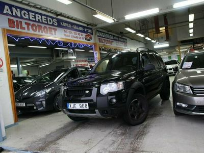 begagnad Land Rover Freelander 2.0 TD4 4WD NY BES 0%Ränta