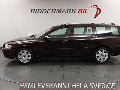 begagnad Volvo V70 2.4D 163hk Classic Kamrem Bytt Nyservad D-Värmare