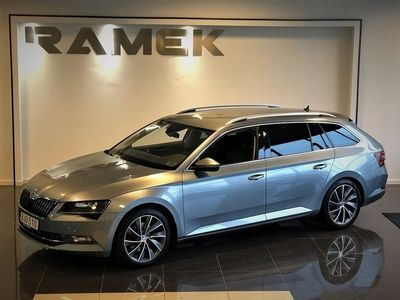 begagnad Skoda Superb 2.0 TDI DSG Laurin & Klement Euro 6 190hk