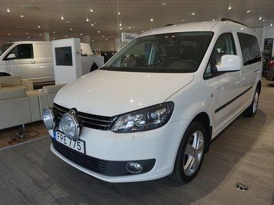begagnad VW Caddy Maxi Life Comfort TDI 140 4-