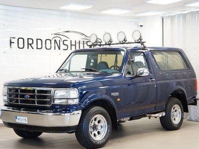 begagnad Ford Bronco V8 4x4 / NYBESIKTIGAD
