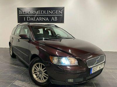 begagnad Volvo V50 1.8 F Kinetic 125hk 16000mil 1 Ägare Drag Motor-V