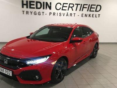 begagnad Honda Civic 1.5T CVT Sport (182hk) Navi Adapt
