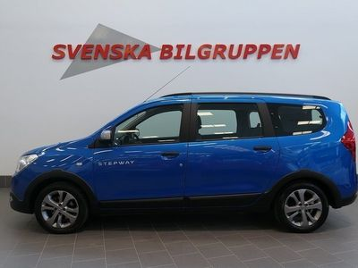 brugt Dacia Lodgy 1.2 TCe Stepway Euro 6 7-sits Pdc S+V-hjul