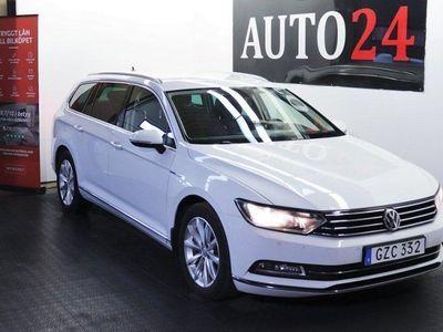 begagnad VW Passat TDI 4M D-värmare Backkamera Drag EU6