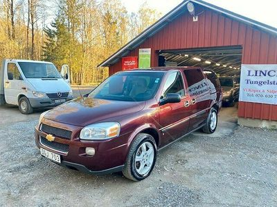 begagnad Chevrolet Uplander EWB 3.9 V6 E85 Hydra-Matic 7-sits 243hk