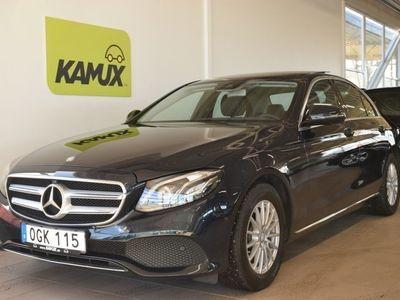 begagnad Mercedes E220 9G-Tronic 194hk D-värmare Drag Navi Panorama HEMLEVERANS