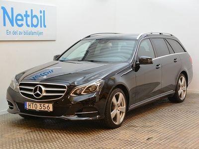 begagnad Mercedes E220 BlueTEC 4M 4MATIC 170hk Drag / Backkamera