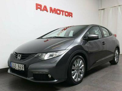 begagnad Honda Civic 1,8 i-VTEC 142hk Sport 5dr Besiktad/Kamkedja