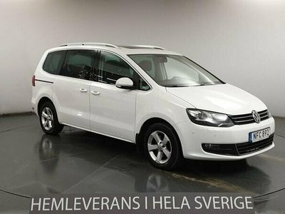 begagnad VW Sharan 2.0 TDI 4Motion (150hk) Premium
