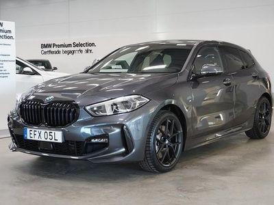 begagnad BMW 120 xDrive M Sport Connected Drag HiFi Aktiv Farthållare 2021, Halvkombi Pris 455 800 kr