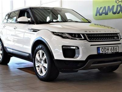 begagnad Land Rover Range Rover evoque 2.0 TD4 Navi Backkamera Helskinn Drag SoV 180hk