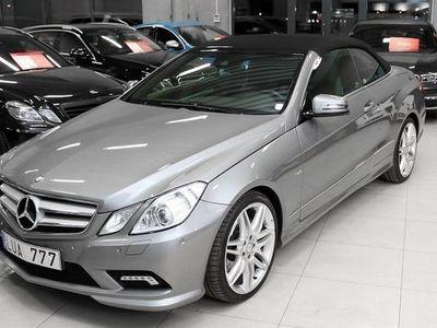 begagnad Mercedes E250 E BenzCabriolet BE AMG 2011, Cab 249 900 kr