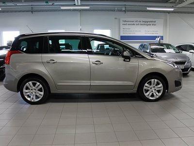 begagnad Peugeot 5008 1.6 120hk BlueHDi Allure Automat *7-sits/B-kamera/GPS/Glas
