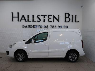begagnad Peugeot Partner PRO+ 1,6 HDI Aut | Moms | Drag | Svensksåld