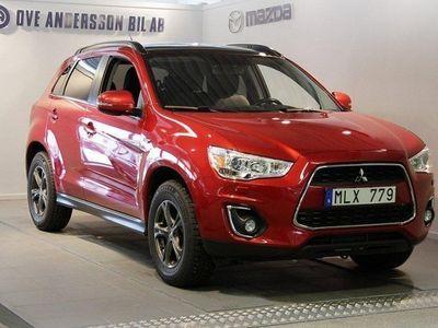 begagnad Mitsubishi ASX 2,2D 4WD (150hk)