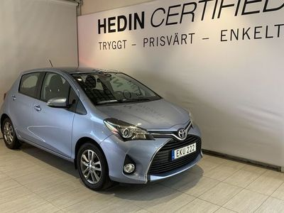 begagnad Toyota Yaris YARIS 1,33 Dual VVT-i //Backkamera//Stolsvärme//Manuell//