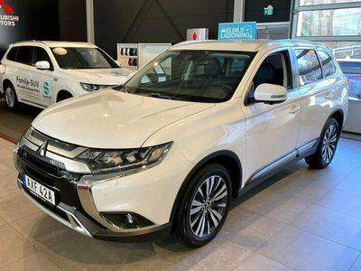 begagnad Mitsubishi Outlander 2.0 7-sits 4WD Business Aut