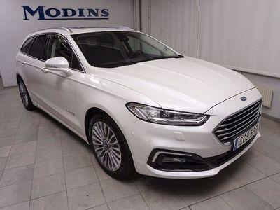 begagnad Ford Mondeo Kombi Hybrid 2,0 Titanium Hgv (Drag+Panorama)