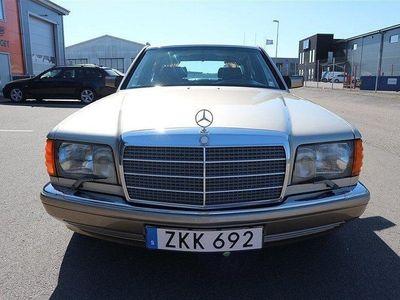 begagnad Mercedes 380 SEL Automat 204hk Toppskick