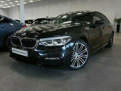 begagnad BMW 530 i xDrive M-Sport Head UP Navi Harman K Värmare