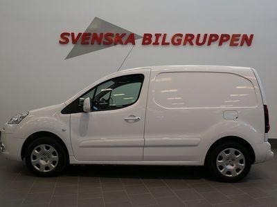 brugt Peugeot Partner 1.6 HDi Skåp Aut 3-Sits Aux Drag S+V-hjul