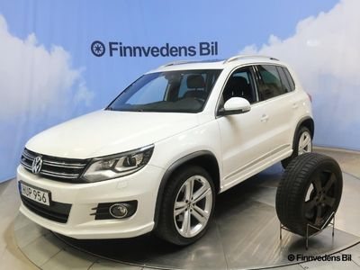brugt VW Tiguan 2.0 TDI 4M R-line inkl v-hjul/drag