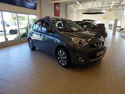 """begagnad Nissan Micra 80 Acenta 16"""" Euro6 Parkeringspkt 2015, Halvkombi 109 500 kr"""