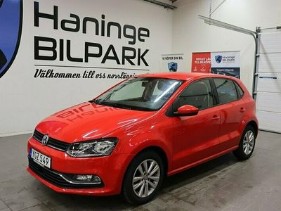 begagnad VW Polo 1.2 TSI Euro 6 90hk / LÅGMILARE / 3281 mil /