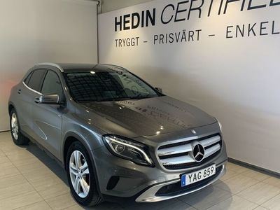 begagnad Mercedes GLA220 d//Värmare//Drag//Navigation