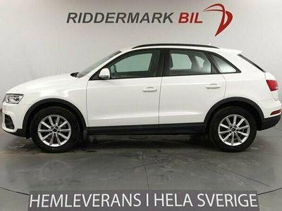 begagnad Audi Q3 2.0 150hk Quattro EU6 Navi Nyservad Skinn/Alcantara