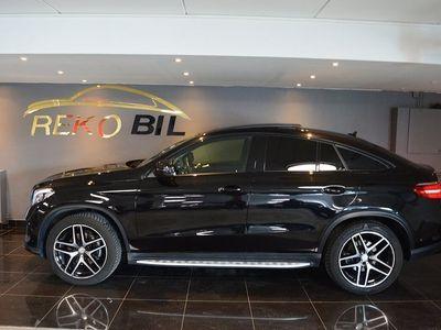 begagnad Mercedes GLE350 d 4M Coupé AMG Panorama Eu6 258hk