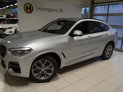 begagnad BMW X4 xDrive20d M-Sport Connected Värmare