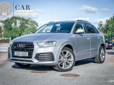 begagnad Audi Q3 2.0 TDI quattro, S-Line, BOSE, Euro 6 184hk