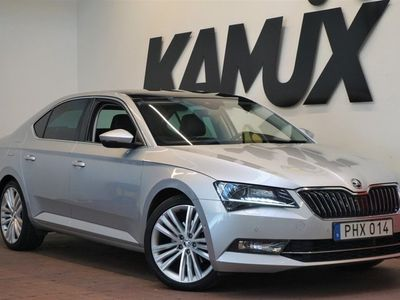 begagnad Skoda Superb 2.0 TDI 4x4 | Business | Pano | D-värm | Drag